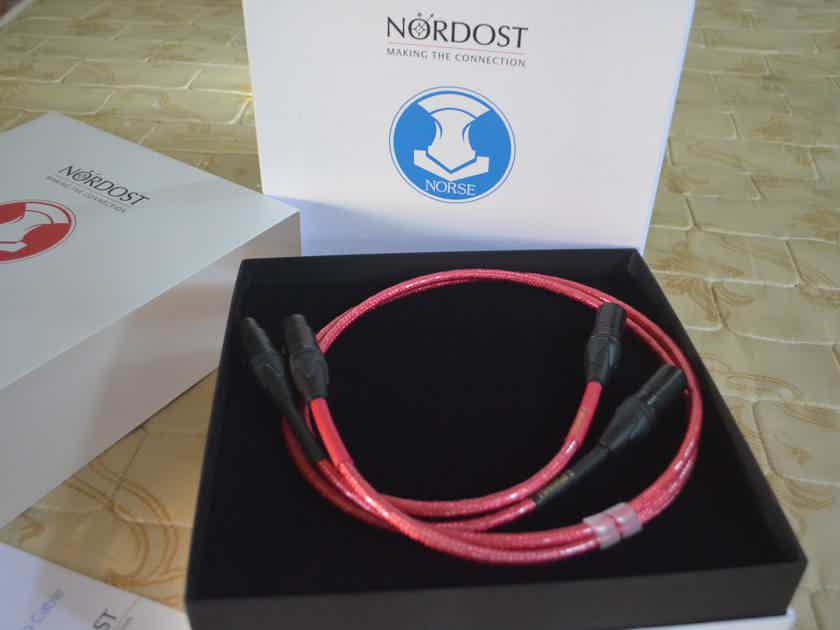 Nordost Heimdall 2 Norse 1m pair XLR inc's NEW reduced.