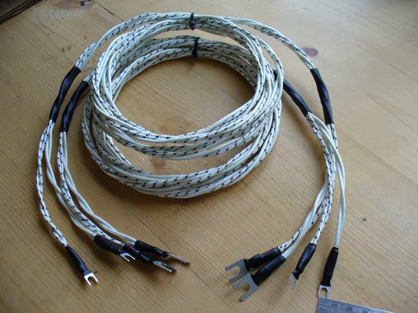 Genuine Western Electric Stranded 2.5M 8ft Natural Sounding Speaker Cables