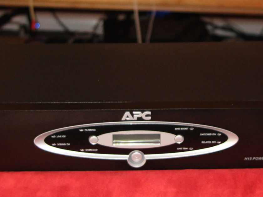 APC  Model H15 Power Conditioner for Audio and Home Theater!