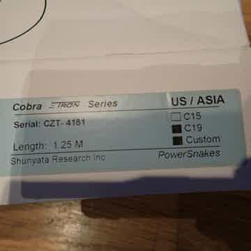Shunyata Research Cobra Zitron