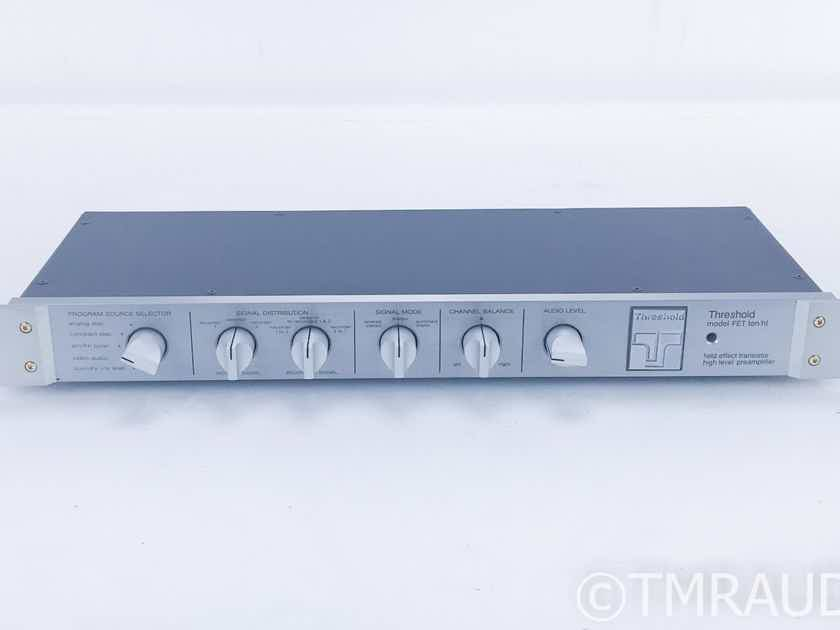 Threshold FET Ten/HL Stereo Preamplifier; 10HL (16582)