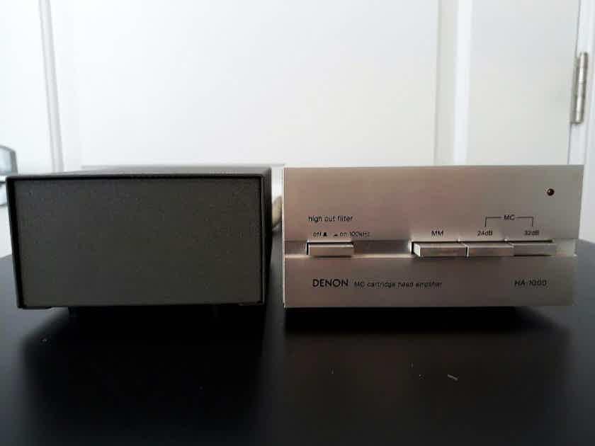 DENON MC STEREO PHONO CARTRIDGE HEAD AMP FROM JAPAN 100V