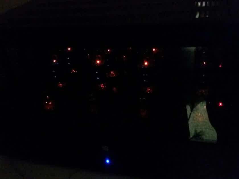 Gently Used Jolida 1000p 100 Watt EL34 Vacuum Tube Valve Power Amplifier with RFT Siemens Tubes