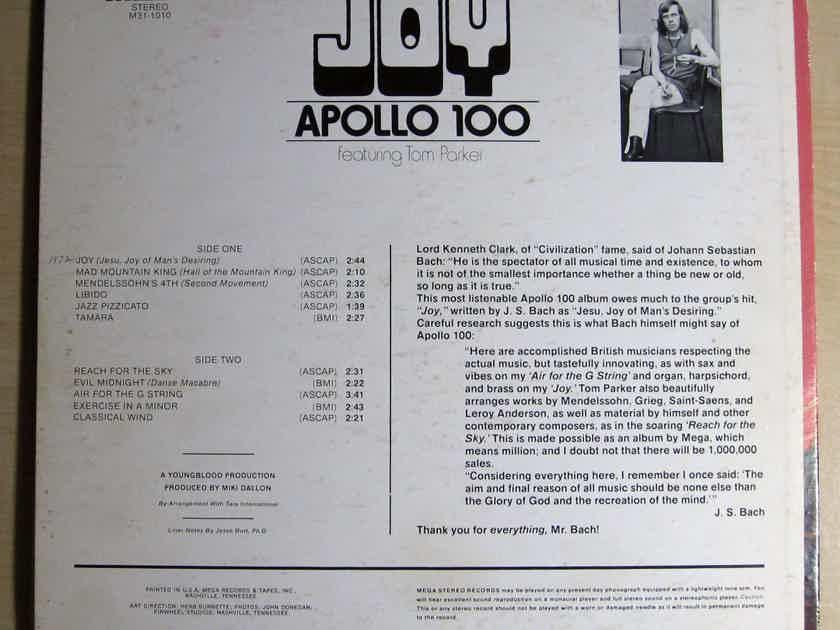 Apollo 100 Featuring Tom Parker - Joy - 1972 Mega Records M31-1010
