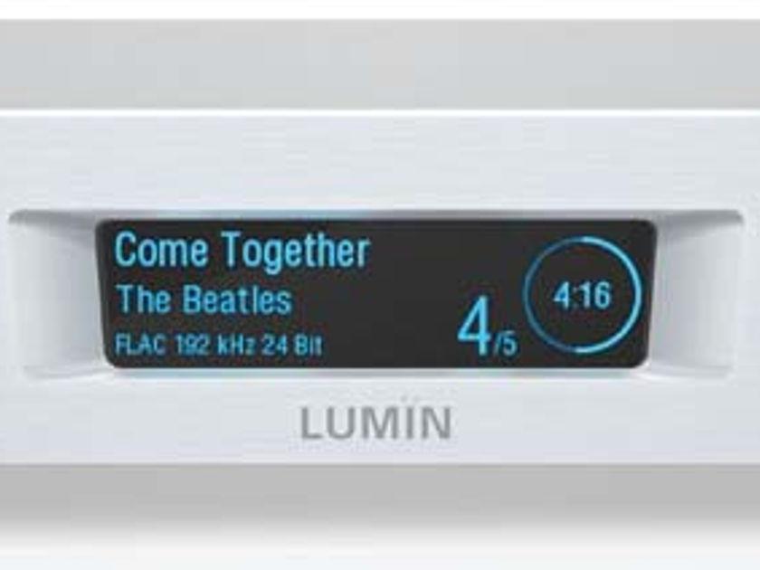 LUMIN D1 NETWORK Music Streamer w/DAC Award Winning Sound! Super Easy to Use & Enjoy!