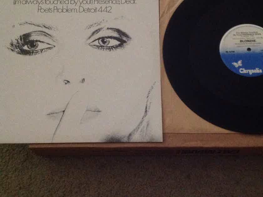Blondie - (I'm Always Touched By Your) Presence Dear + 2  Chrysalis Records  U.K. 12 Inch Vinyl  EP 45 RPM NM