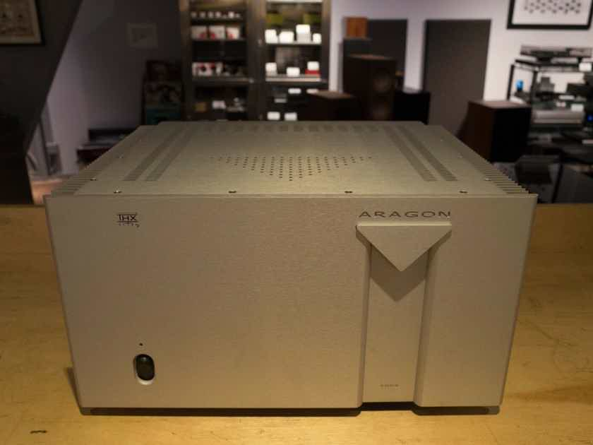 Aragon 2005 5 Channel Power Amplifier 200 watts - Silver