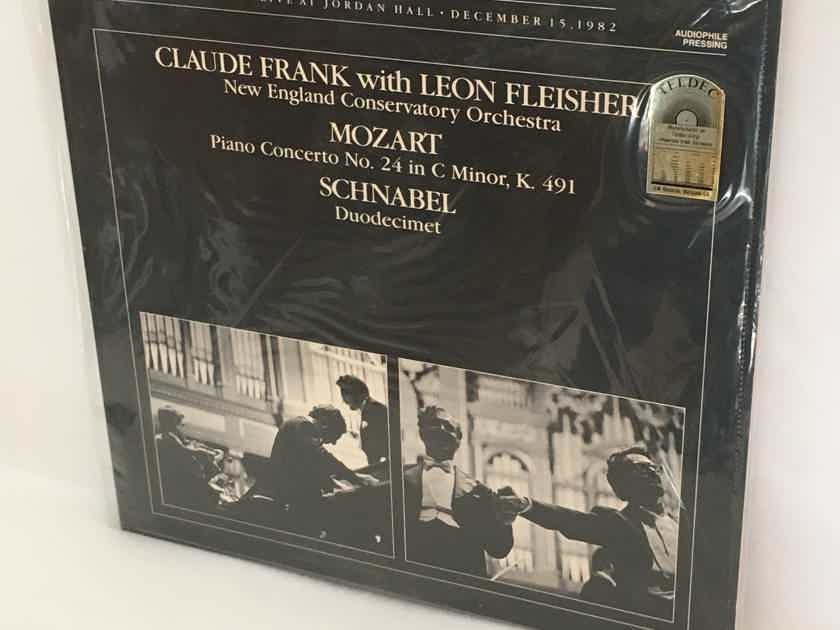 REDUCED! RARE SEALED Double Audiophile Album Set: Frank/Shure/Fleisher Schnabel Memorial Concert Vol I & II $65