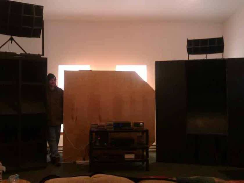 1005b horn stand EV 15in woofers