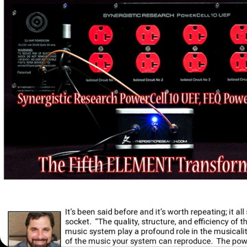 Synergistic Research Powercell 10 UEF