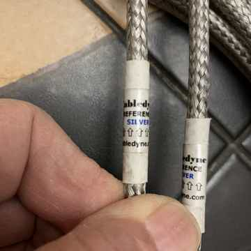 Cabledyne Silver Reference XLR