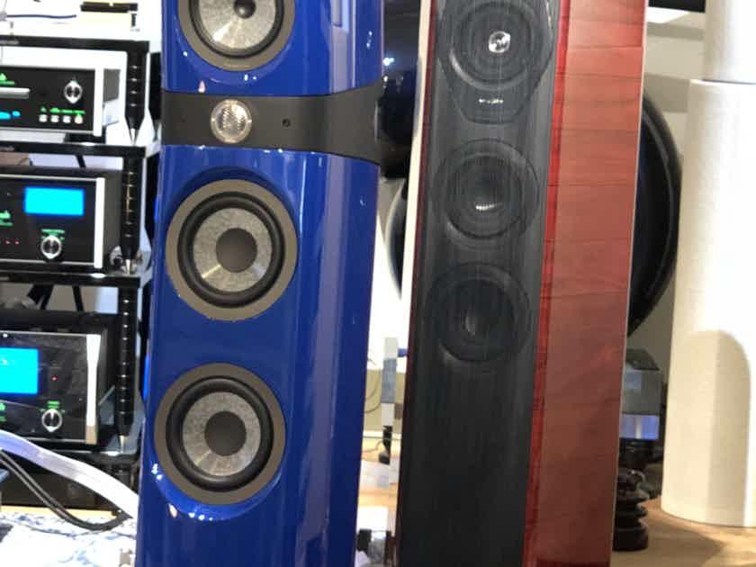Focal Sopra N2 No2 Audi blue gloss speaker