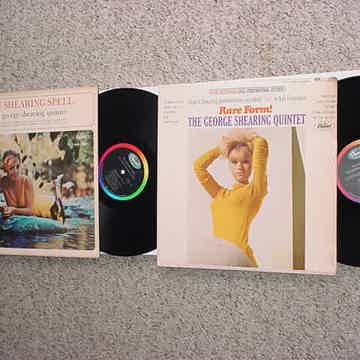 The George Shearing Quintet 2 lp records Shearing Spell and Rare Form