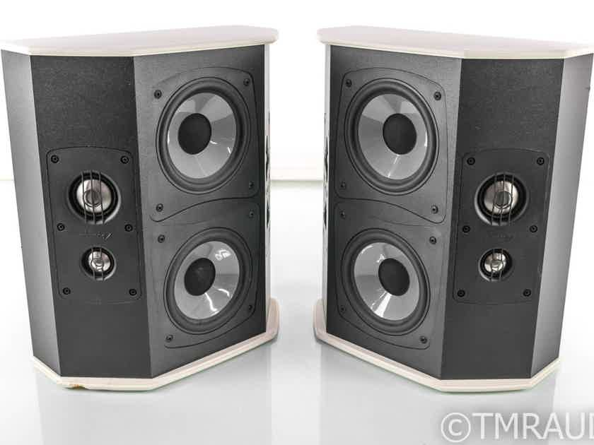 Mirage HDT-R Omnipolar Custom Surround Speakers; White Pair (26727)