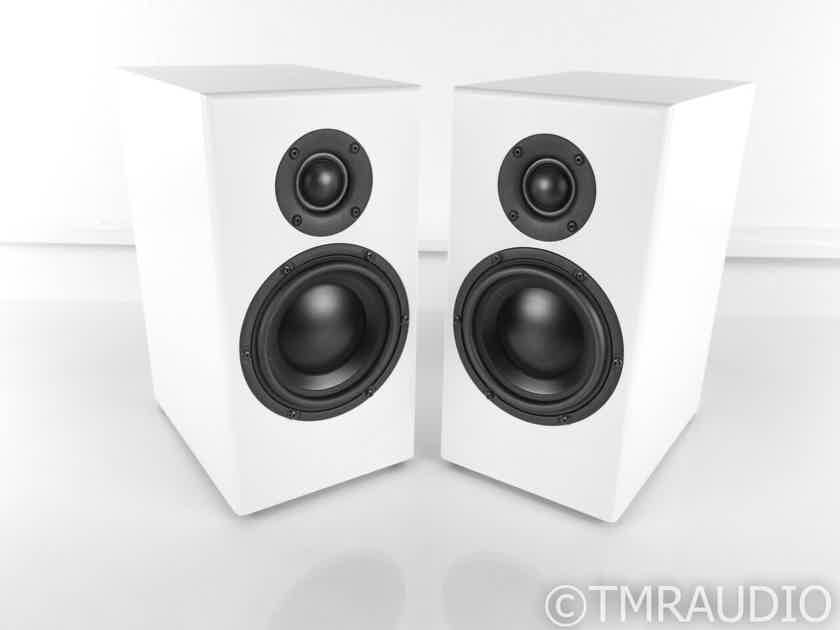 Totem Sky Bookshelf Speakers; Satin White Pair (22662)