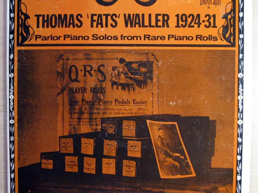 Fats Waller - Lot of 3 Fats Waller LP Records RCA CPL-1-2904 / Biograph BLP-1005Q / BLP-1015Q