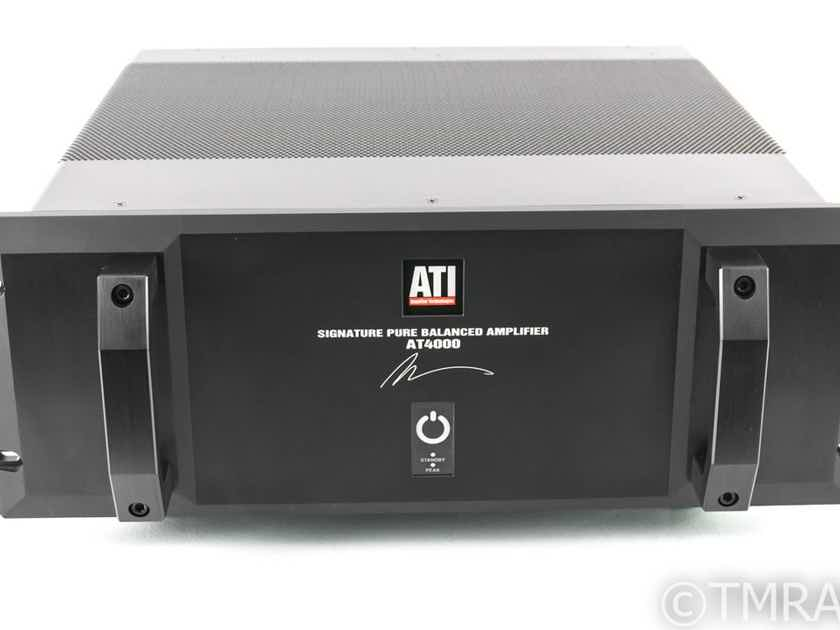 ATI AT4003 3 Channel Power Amplifier; Signature Series (26577)