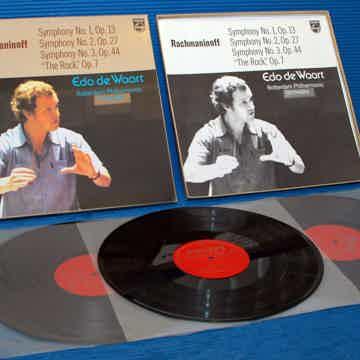 "RACHMANINOFF / deWoort   - ""Symphony 1-3"" -  Philips Im..."