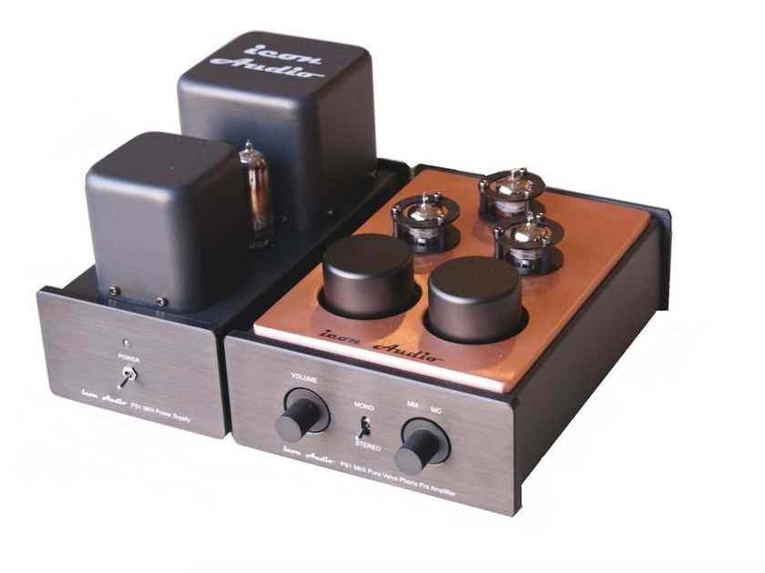 Icon Audio UK PS1 MKII MM/MC Tube Phono Stage