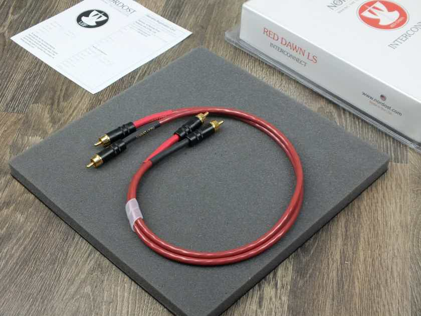 Nordost Leif Red Dawn interconnects RCA 0,6 metre BRAND NEW