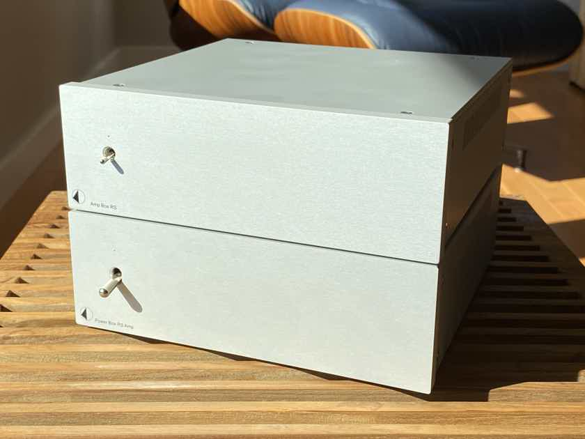 Pro-Ject Amp Box RS Amplifier + Power Box RS Amp Power Supply -