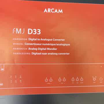 Arcam FMJ-D33
