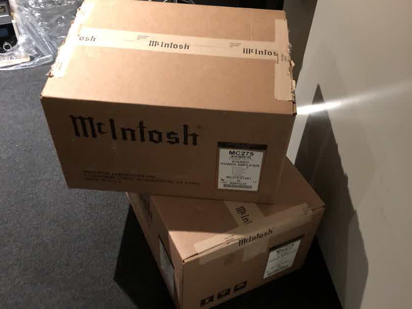 McIntosh MC-275 MK VI Mint BRAND NEW!!!! sold as single or mono pair