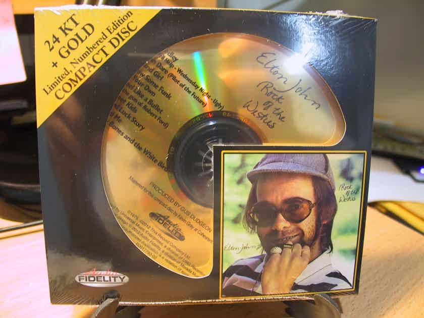 24K Gold CD HDCD AFZ-149 Audio Fidelity Elton John Rock Of The Westies Sealed #0830/5000