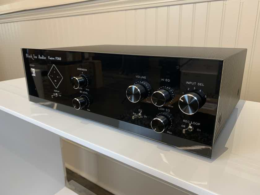 Black Ice Audio - F360 - Hybrid Tube Preamplifier - Customer Trade-In!!!