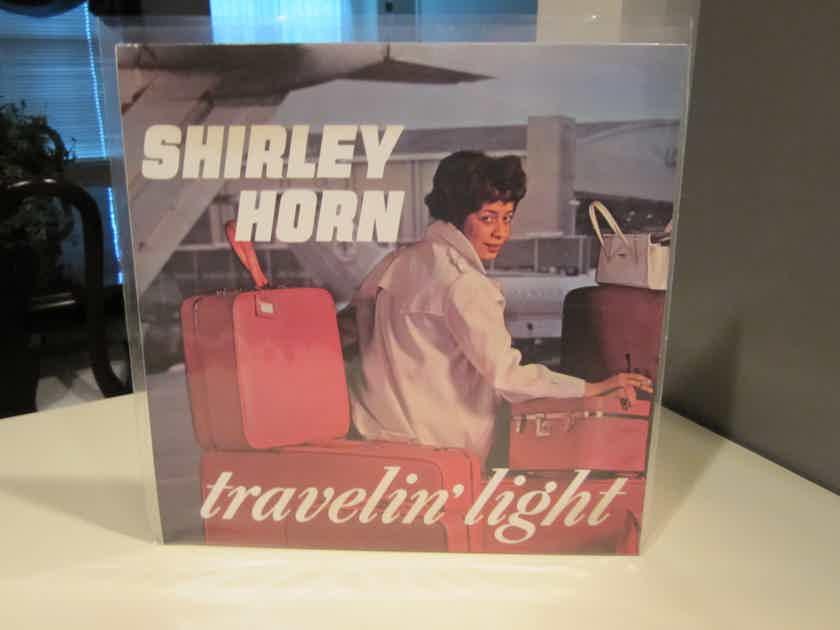 SHIRLEY HORN  TRAVELIN LIGHT, ALTO LP