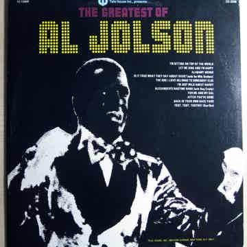 Al Jolson The Greatest Of Al Jolson