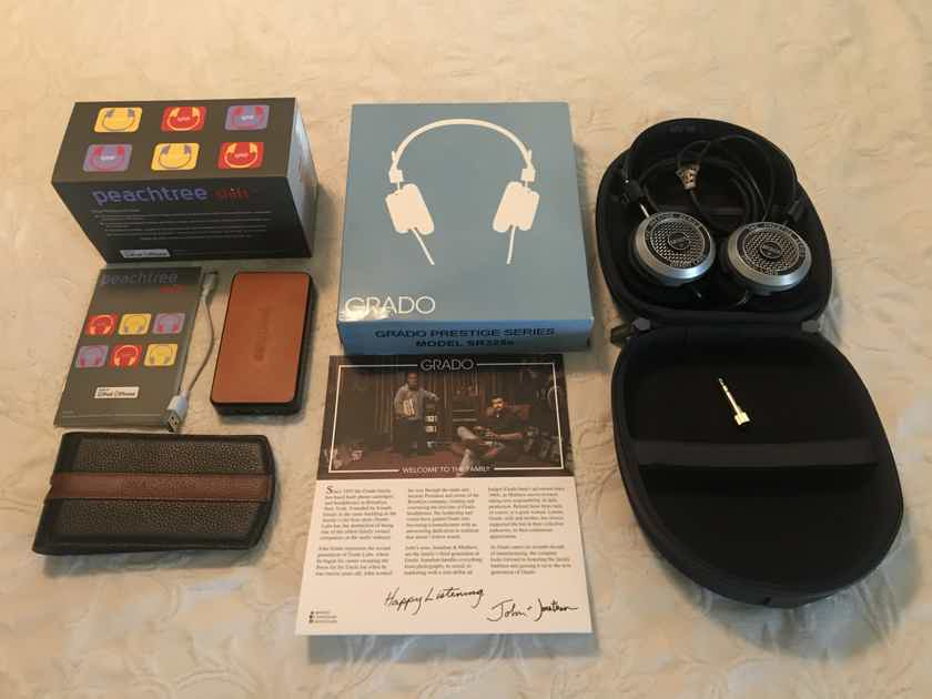 Grado SR-325e & Peachtree Audio Shift