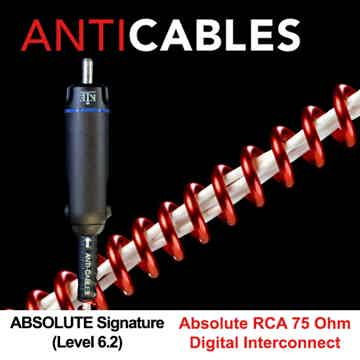 ANTICABLES Level 6.2 ABSOLUTE Signature 1.5m Digital Ca...