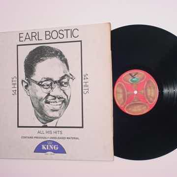 Earl Bostic 14 hits all his hits lp record GUSTO KING K-5010X