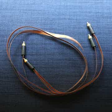 Stefan AudioArt Endorphin Ribbon Interconnects RCA 1M