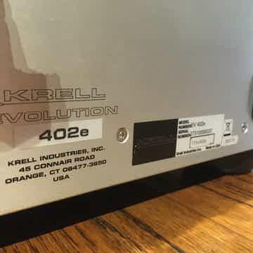 Krell Evolution 402e