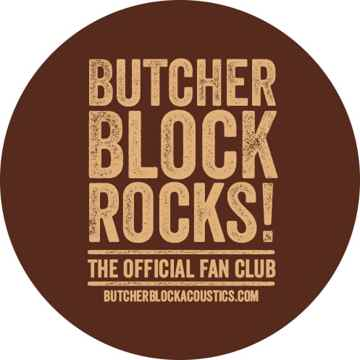 "Butcher Block Acoustics rigidrack™  24"" X 18"" - 3 Shelf - Maple Shelves - Maple Legs"