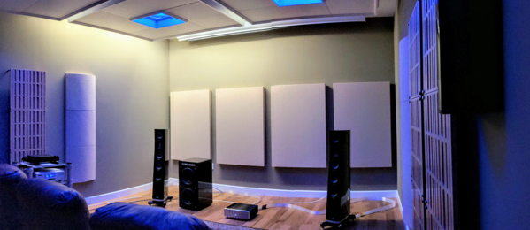 Dedicated Acoustic Listening Room