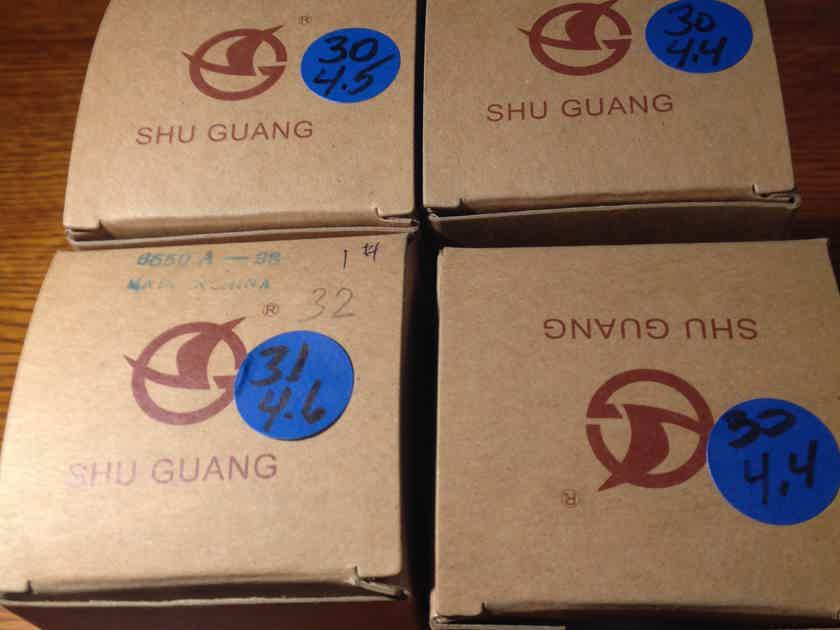 Shuguang 6550A-98 Matched Quad.  Tested / Brand New in Original Boxes