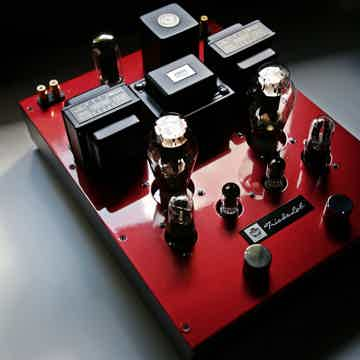 Triode Lab 45 EVO SET Integrated Amp Ferrari Red (Perfe...