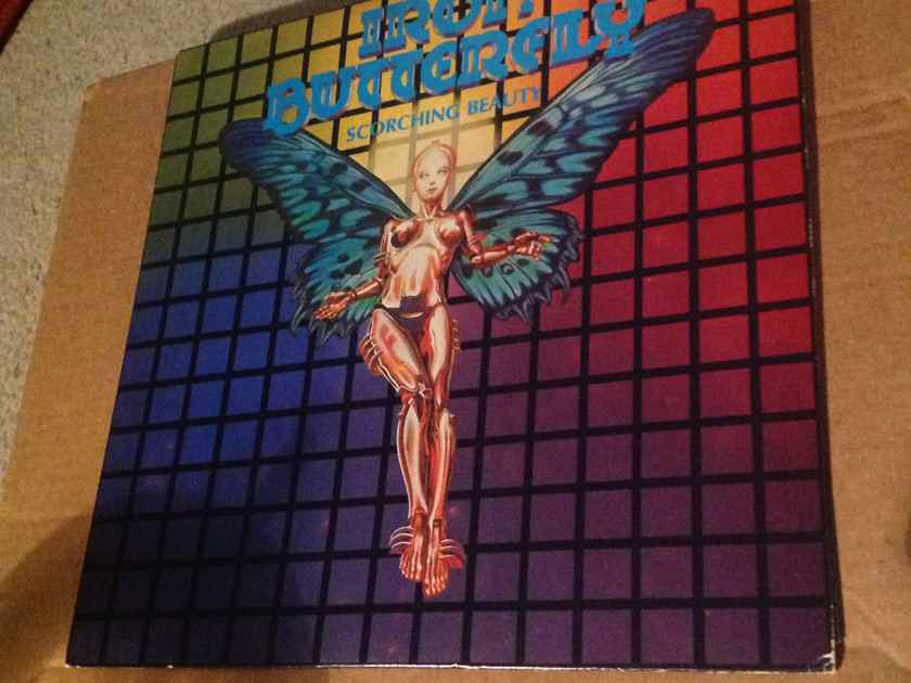 Iron Butterfly - Scorching Beauty MCA Records Rainbow Labe Vinyl  LP NM