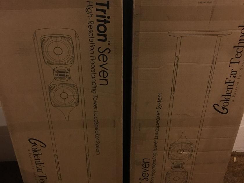 Golden Ear Technology Triton Seven Speakers Mint