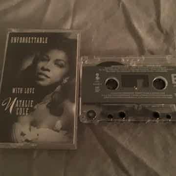 Natalie Cole Pre Recorded Cassette  Unforgettable