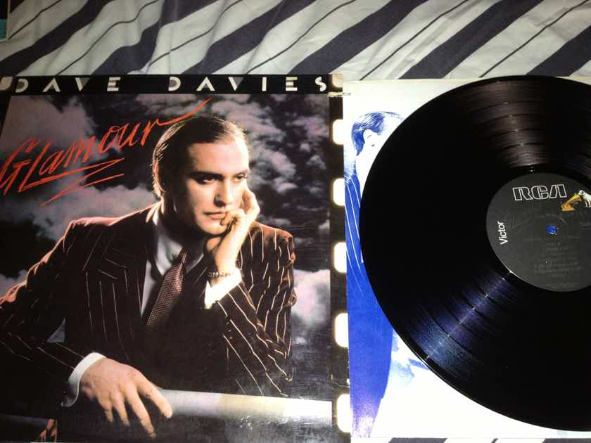 Dave Davies(Kinks) - Glamour RCA Records Vinyl LP NM Deadwax RL