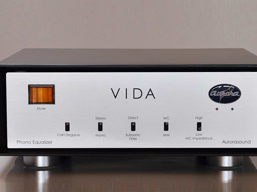 Aurorasound VIDA - LCR type phono stage - open box unit in mint condition