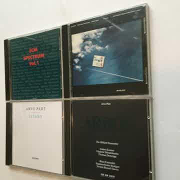 ECM new series Arvo Part  Cd lot of 4 cds Spectrum vol1 see add