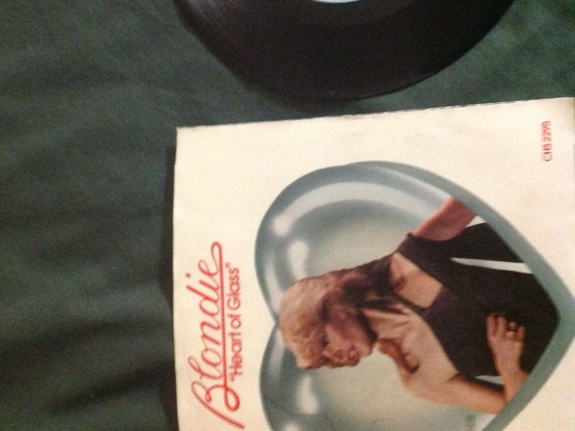 Blondie - Heart Of Glass 45 With Sleeve