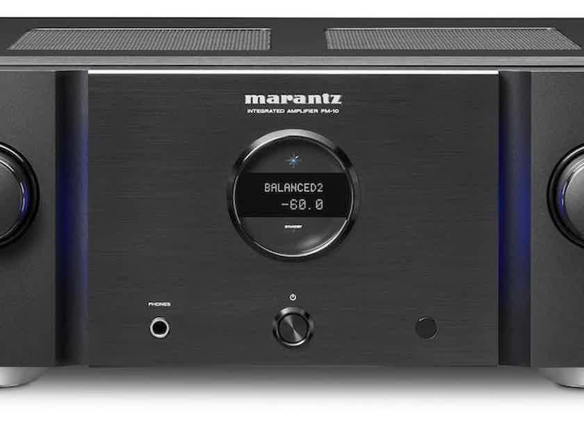Marantz PM-10 Stereo Integrated Amplifier PM10: Black (New) (14364)