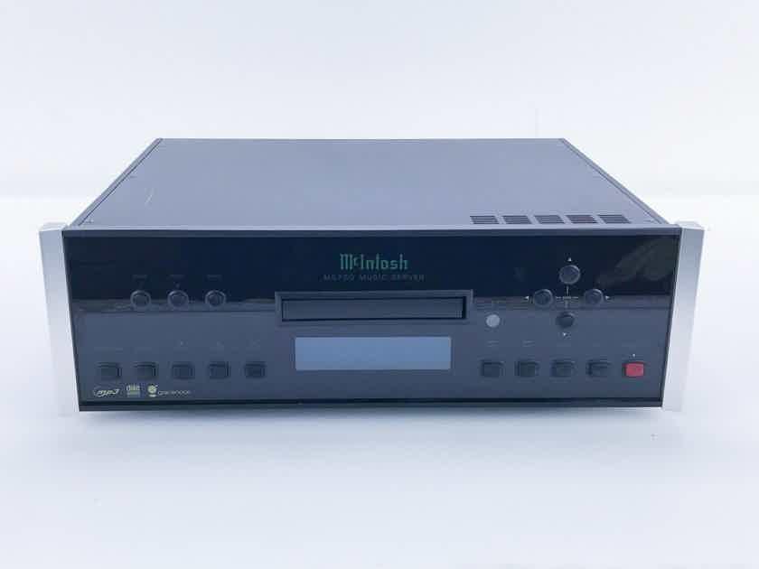 McIntosh MS750 Network Player / CD Ripper; MS-750; 1TB HDD (16606)