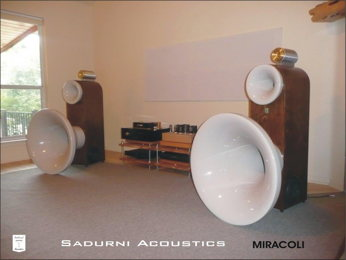 Sadurni Acoustics Horns